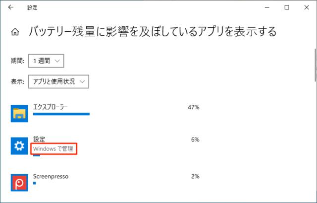 Windowsで管理